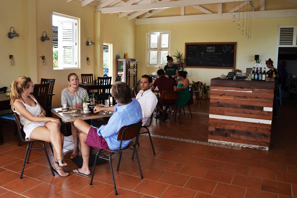 Curacao: Hofi Cas Cora Farm to Table Restaurant The Eatery