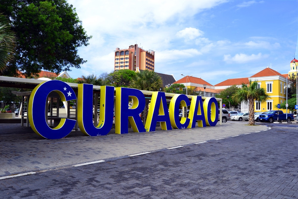 Curacao Sign in Willemstad