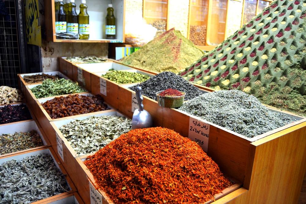 Markt in Jerusalem - Gewürze