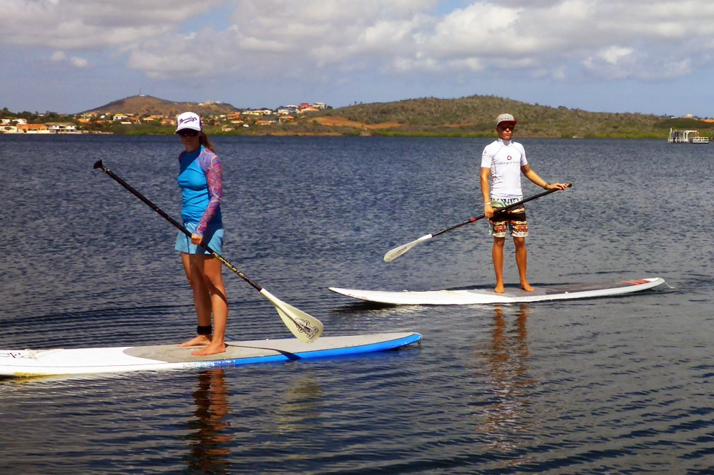 Curacao: SUP Tour auf dem Spanish Water