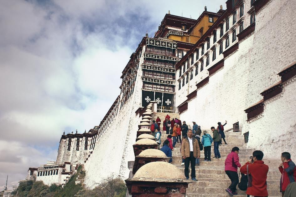Tibet Reise mit Tour zum Mount Everest Basecamp