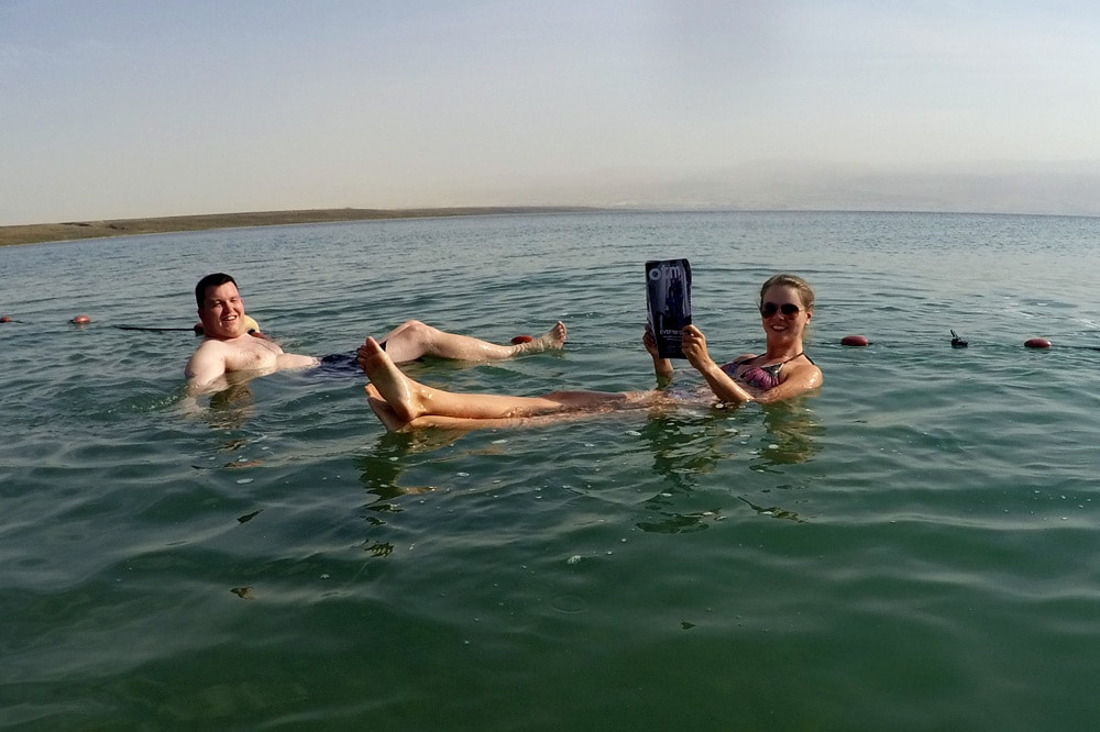 Masada Sunrise Tour Abraham Tours Totes Meer Floating