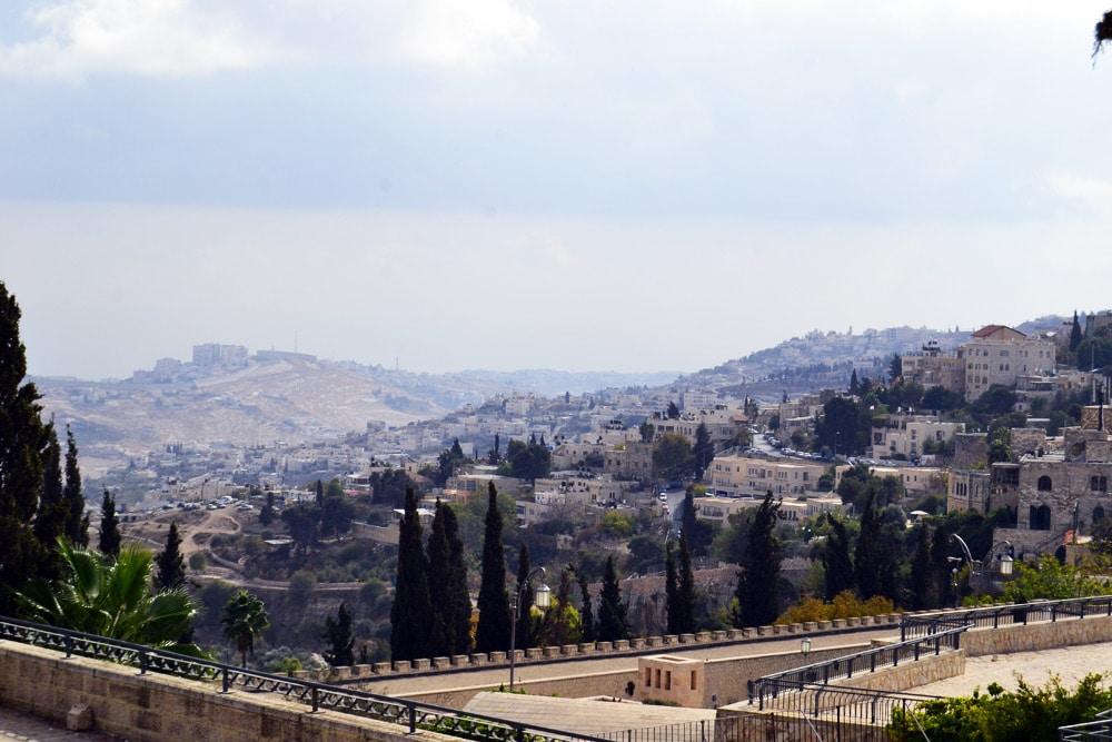 Jerusalem Ausblick auf die Altstadt