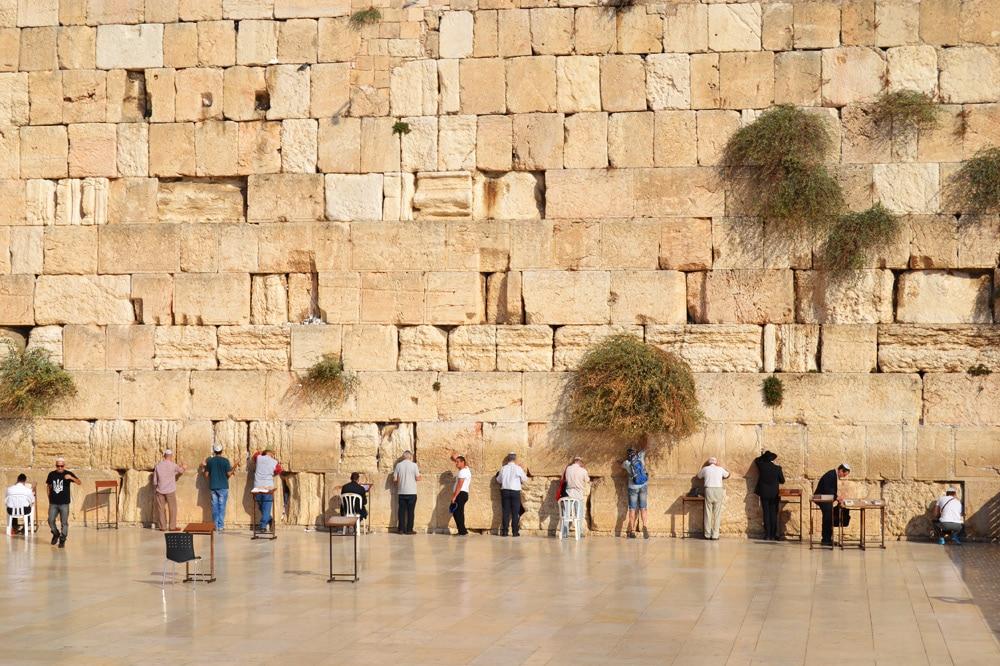 Klagemauer in Jerusalem, Israel
