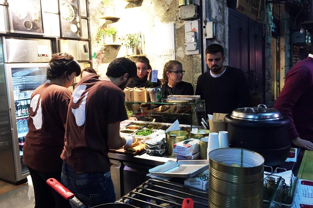 Mahane Yehuda Markt jüdischer Nachtmarkt Jerusalem