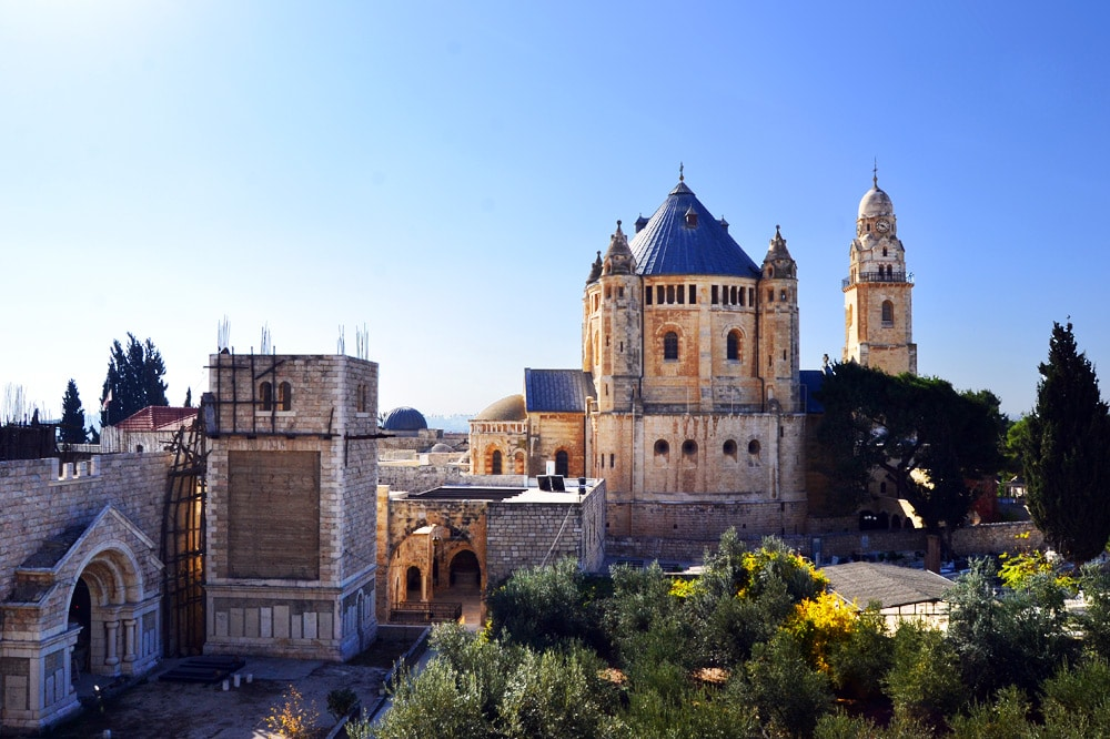 Ramparts Tour Stadtmauer Jerusalem, Dormitio Abtei