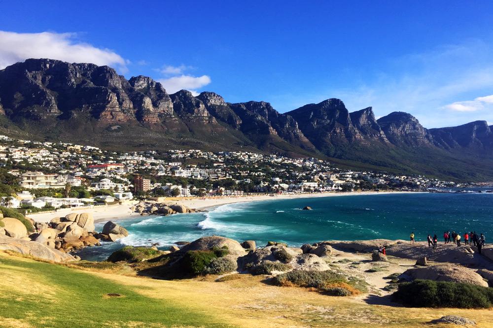Camps Bay Strand Kapstadt - Kapstadt Top 10 Sehenswürdigkeiten