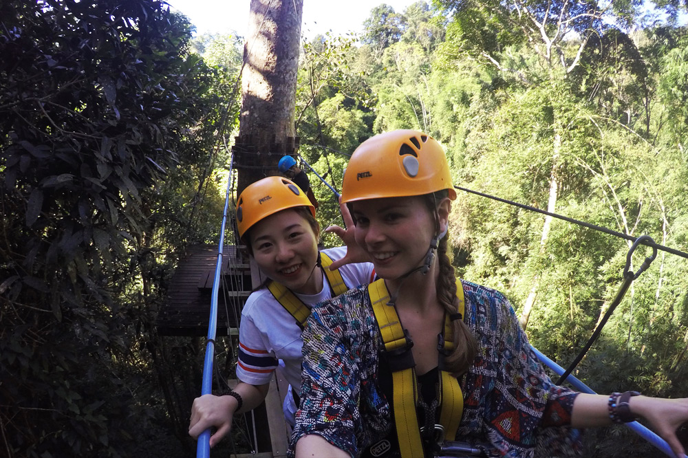 Flight of the Gibbon - Ziplining in Chiang Mai, Thailand