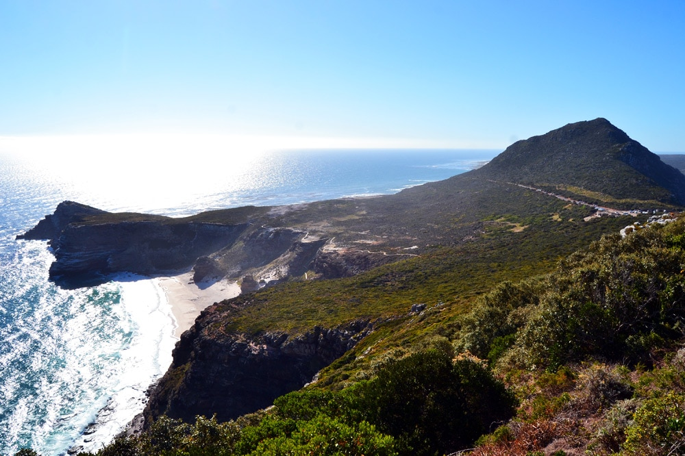 Kapstadt Cape Point Kap der guten Hoffnung Strand