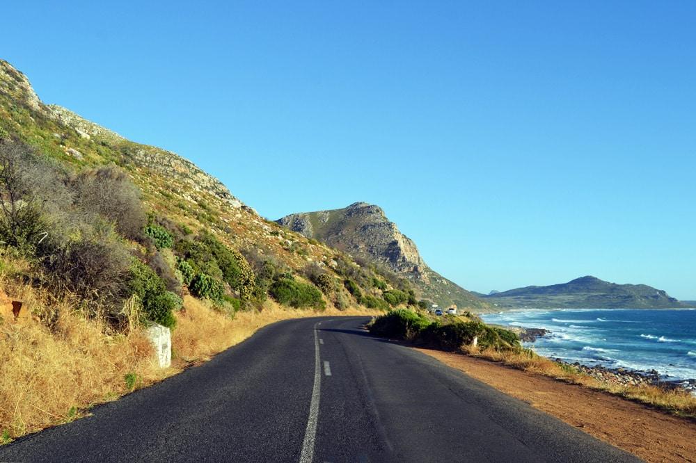 Kapstadt Road Trip Scenic Drive entlang der Küste von Hout Bay