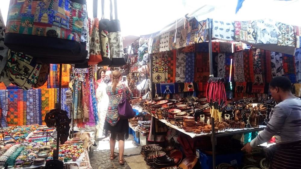 Kapstadt Shopping auf dem Markt