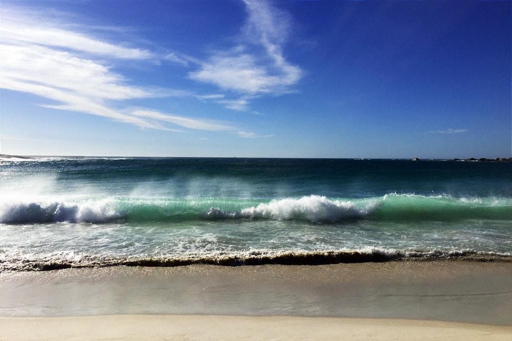 Muizenberg Surfstrand für Anfänger in Kapstadt