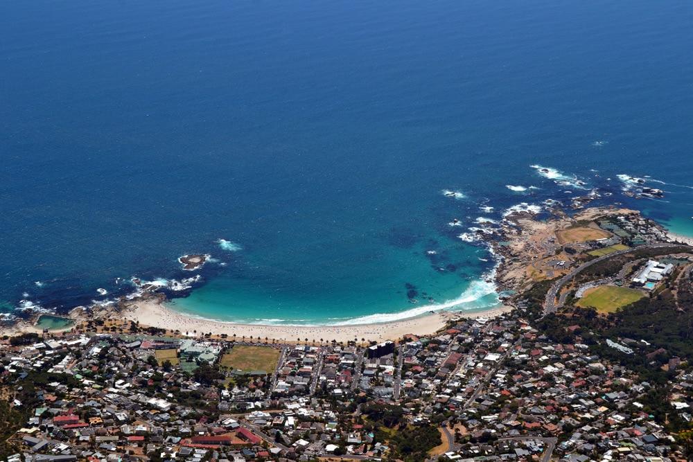 Tafelberg Ausblick auf Kapstadt