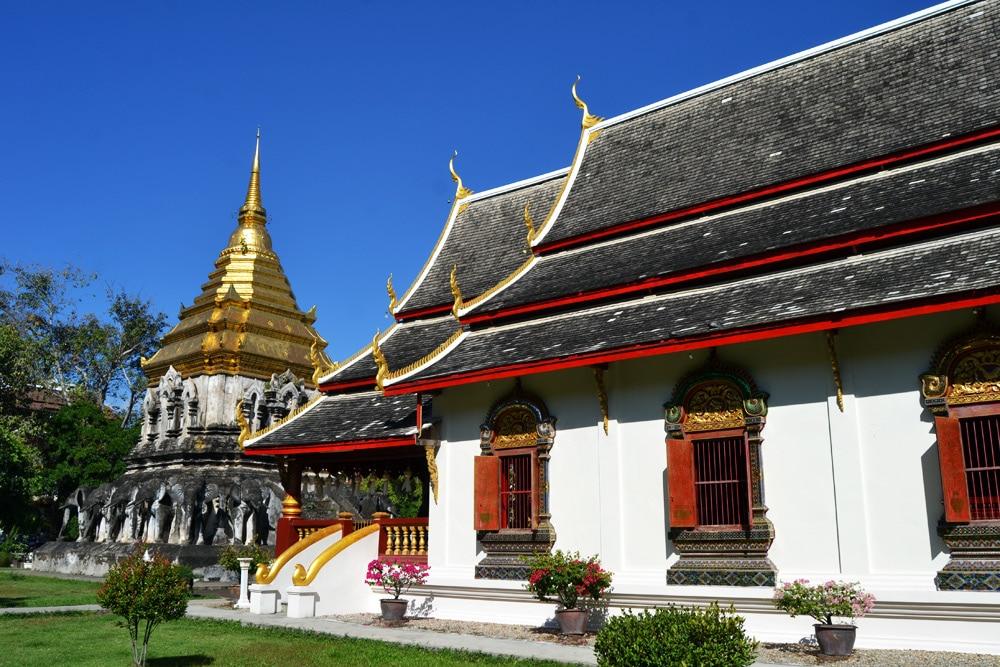 Wat Chiang Man Tempel Chiang Mai, Thailand