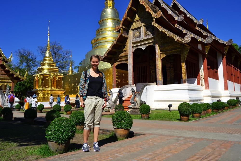 Wat Phra Sing Tempel Chiang Mai, Thailand