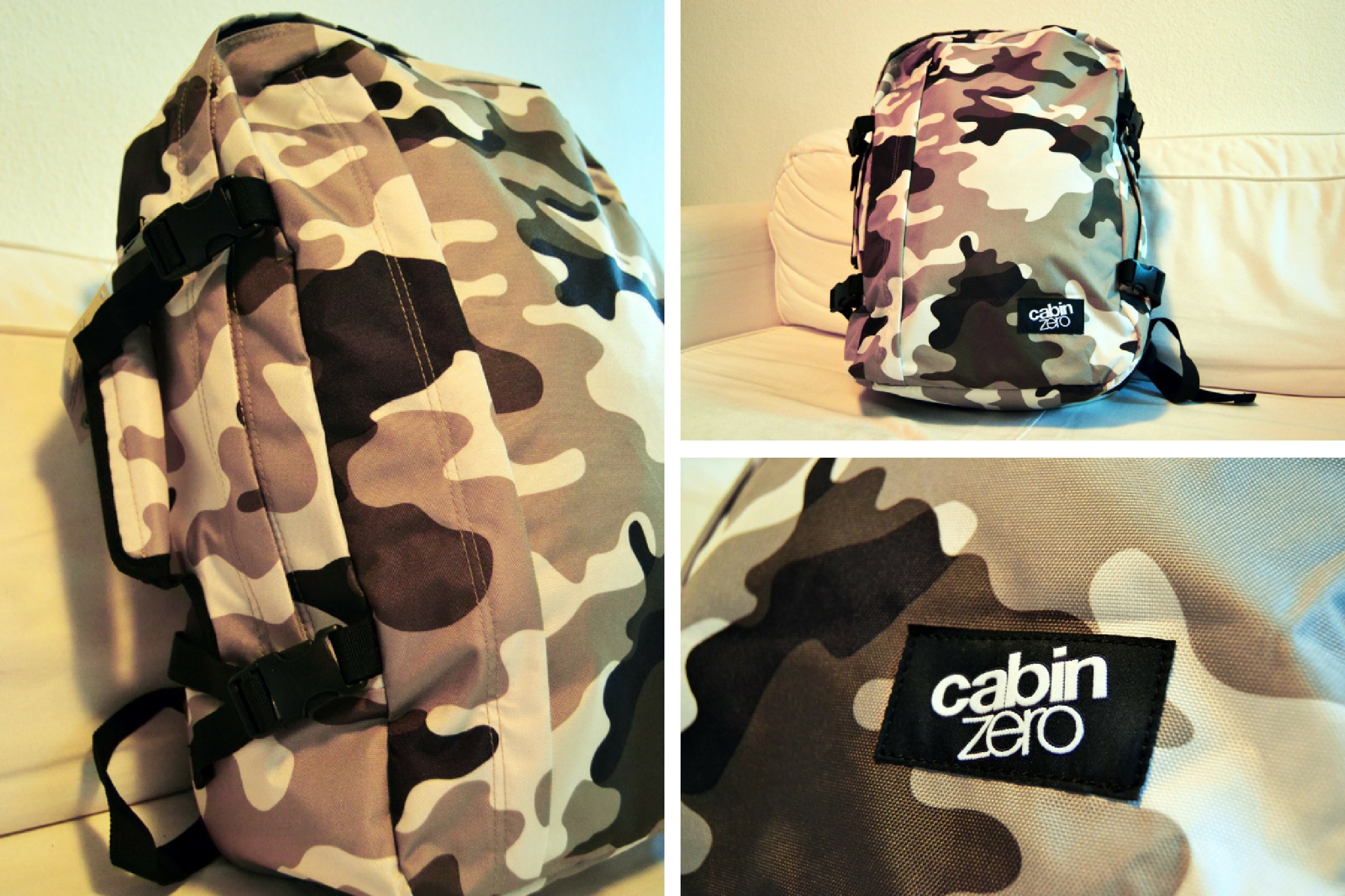 Cabin Zero ultra-light Cabin Bag: Camouflage Kollektion