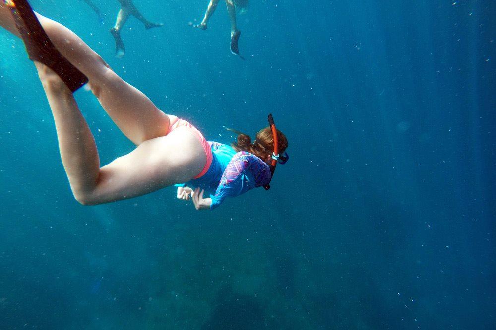 Gili Air schnorcheln mit Schildkröten - eine Woche Bali mit BackpackerPack Trips