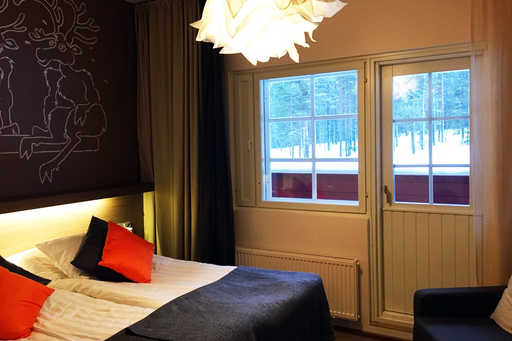 Hotel Hullu Poro in Levi, Lappland - Doppelzimmer
