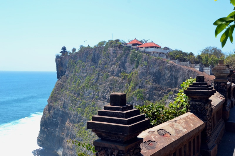 Pura Luhur Uluwatu Tempel - eine Woche Bali mit BackpackerPack Trips