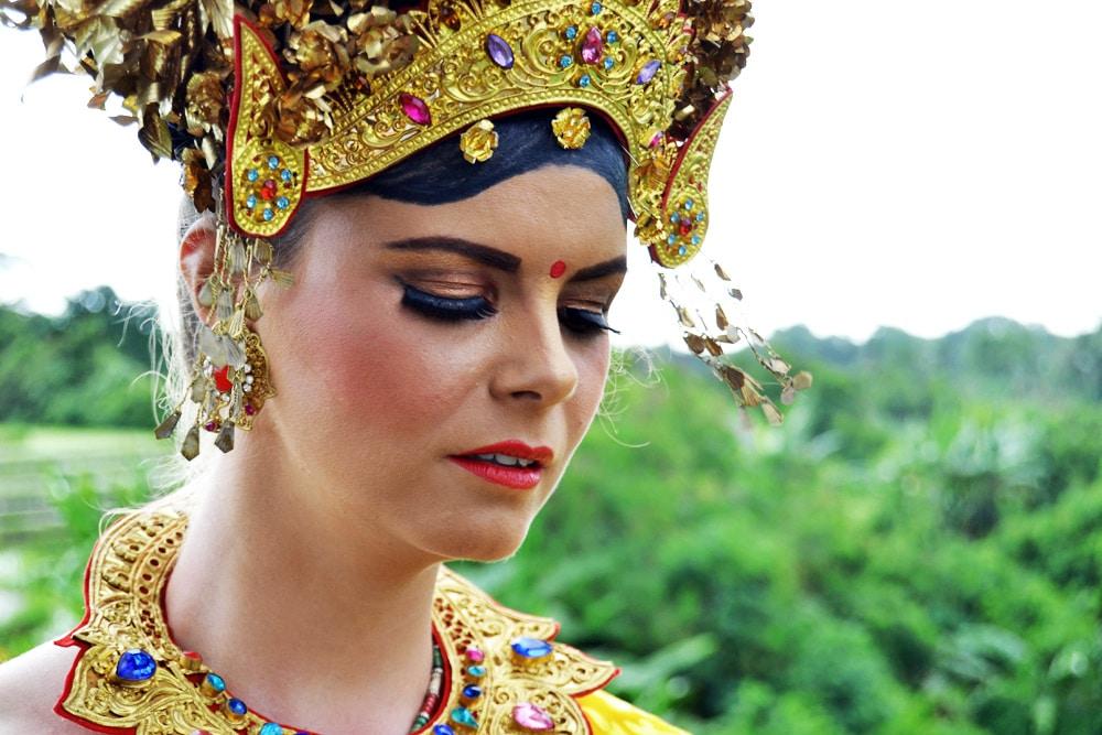 Sahaja Sawah Resort Bali Erfahrungsbericht: Opfergabe