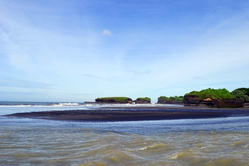 Sahaja Sawah Resort Bali Erfahrungsbericht: Strand