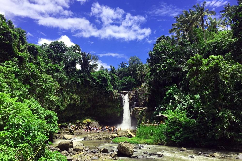 Tegenungan Wasserfall Ubud - eine Woche Bali mit BackpackerPack Trips