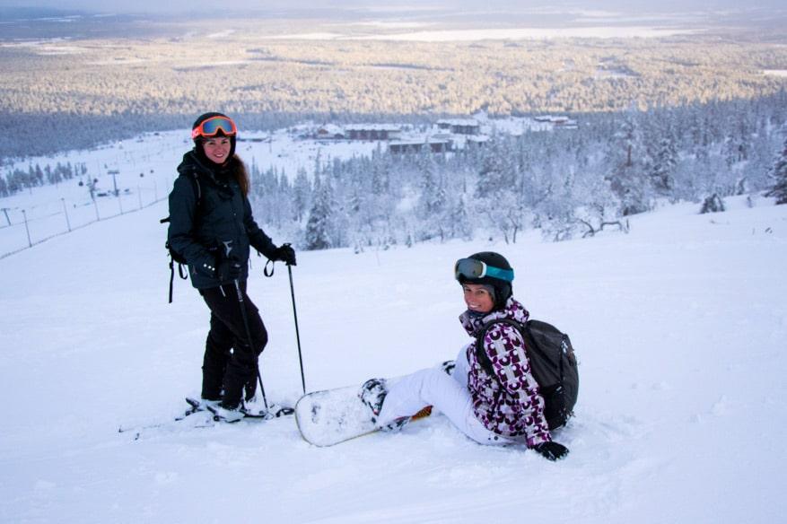 Skigebiet Ylläs in Lappland - Lohnt sich Skifahren in Finnland?