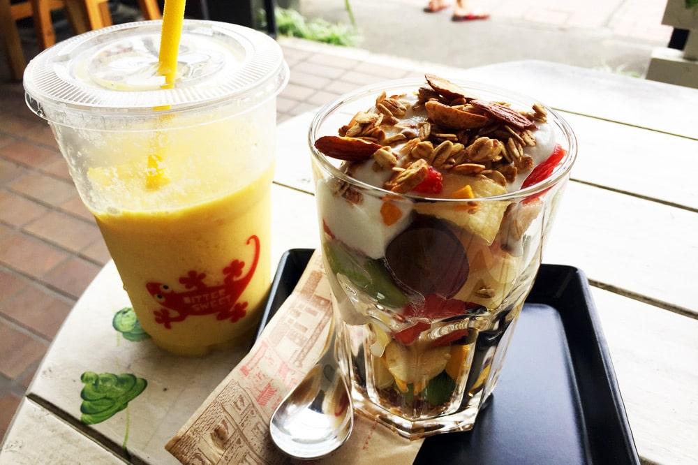 Die besten Restaurants in Chiang Mai: Bittersweet - Müsli und Mango Shake