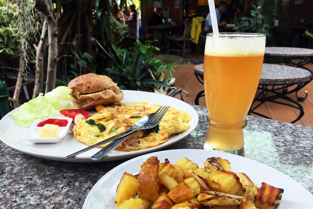 Die besten Restaurants in Chiang Mai: Blue Diamond Breakfast Club - Frühstück