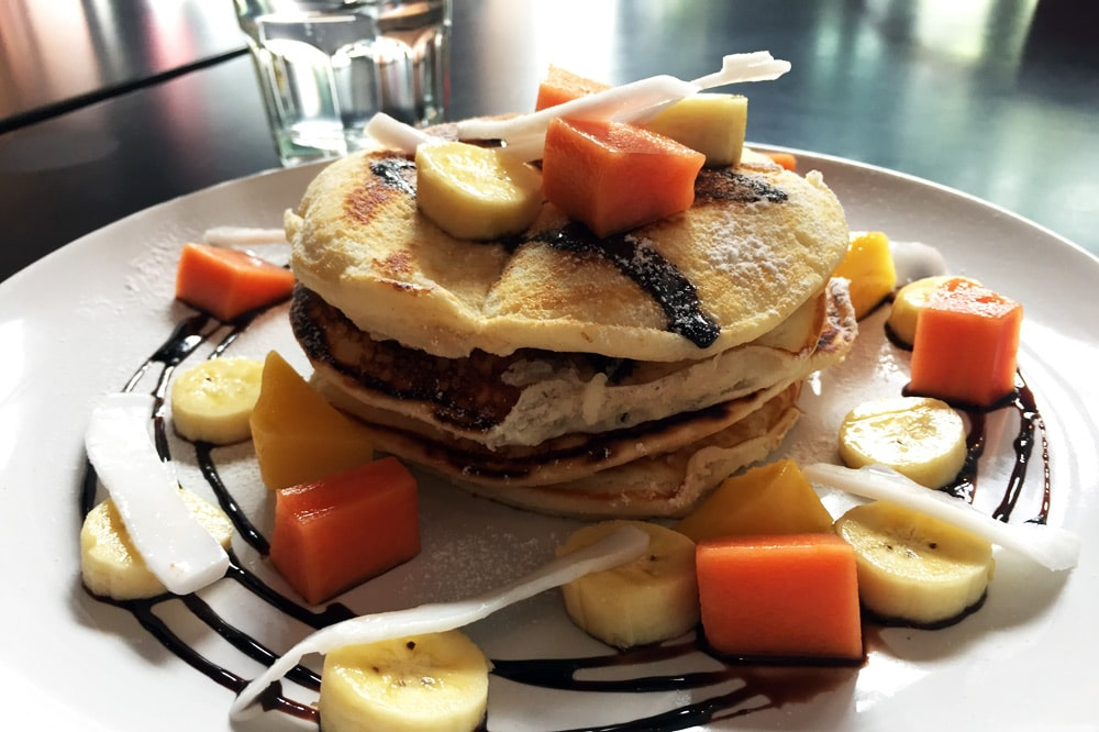 Die besten Restaurants in Chiang Mai: Burgers and Springrolls - Pancakes