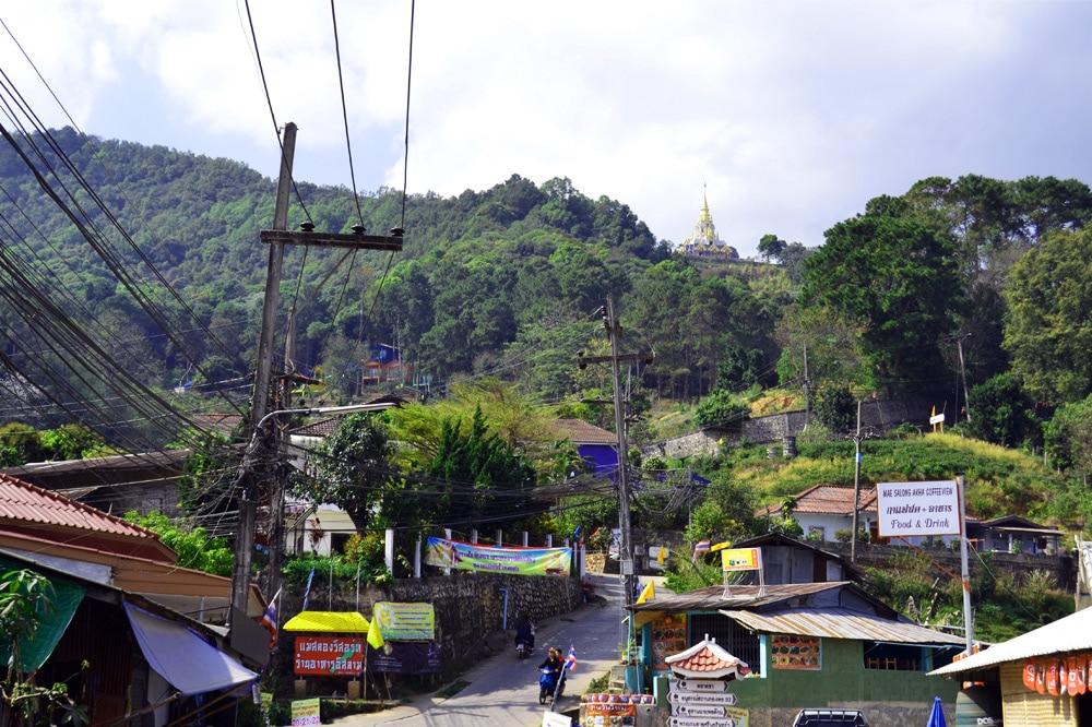 Doi Mae Salong Village (Santikhiri) Chiang Rai, Thailand
