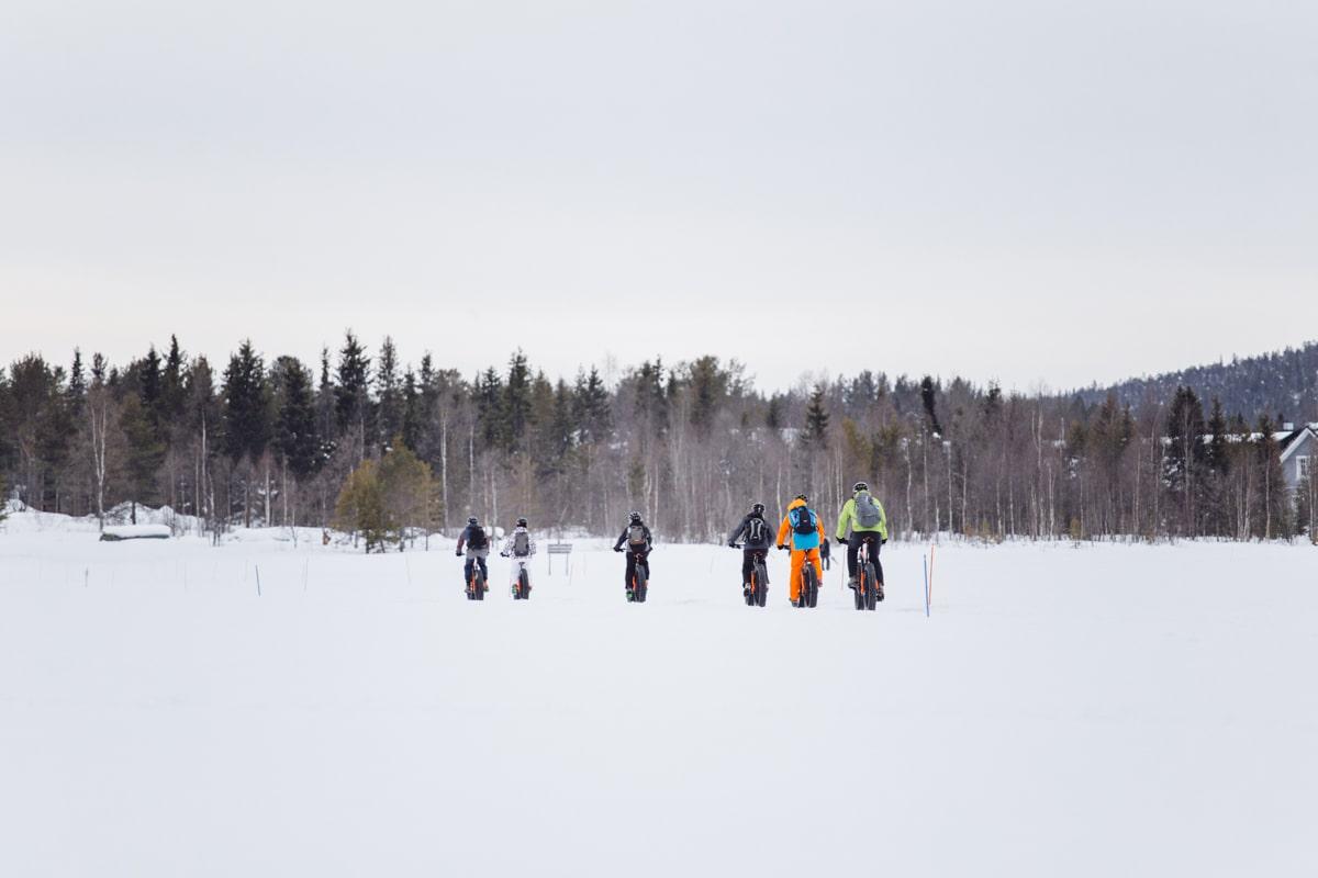 Fatbike Ylläs Lappland