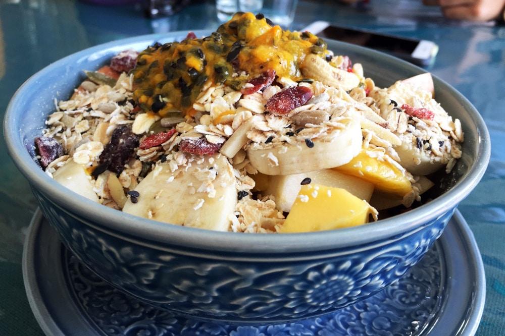 Restaurants in Chiang Mai: Free Bird Cafe - Müsli