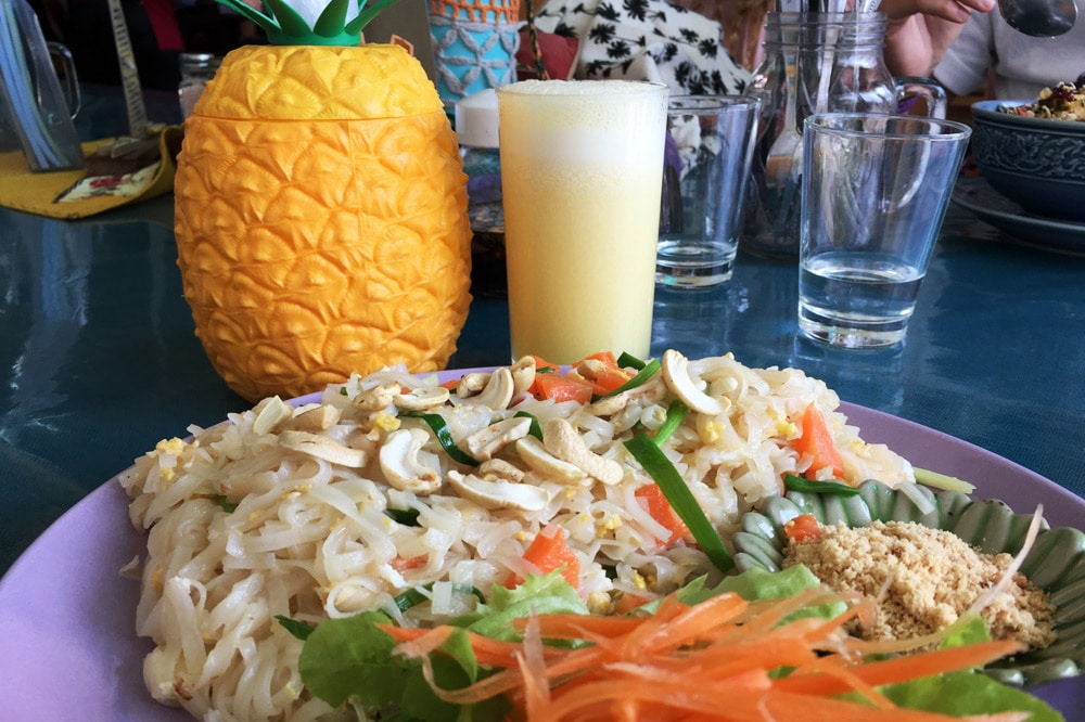 Restaurants in Chiang Mai: Free Bird Cafe - Pad Thai