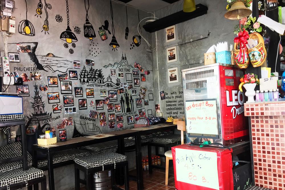 Oak & Awe Frühstückscafe Chiang Rai, Thailand