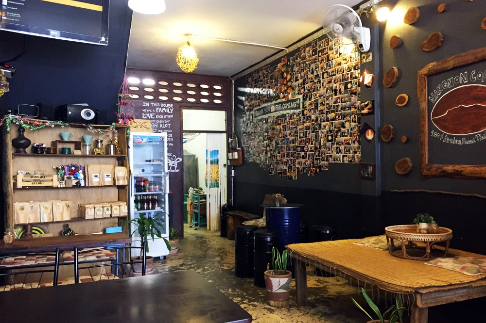 Nangnon Coffee Frühstückscafe Chiang Rai, Thailand