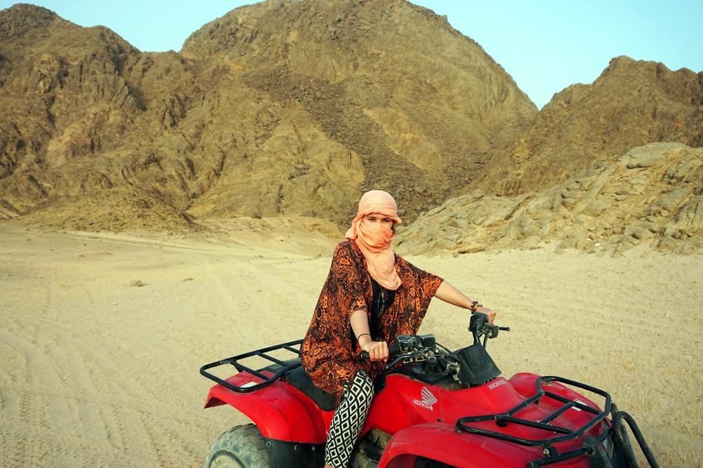 Quad Tour durch die Wüste in Sharm El Sheikh