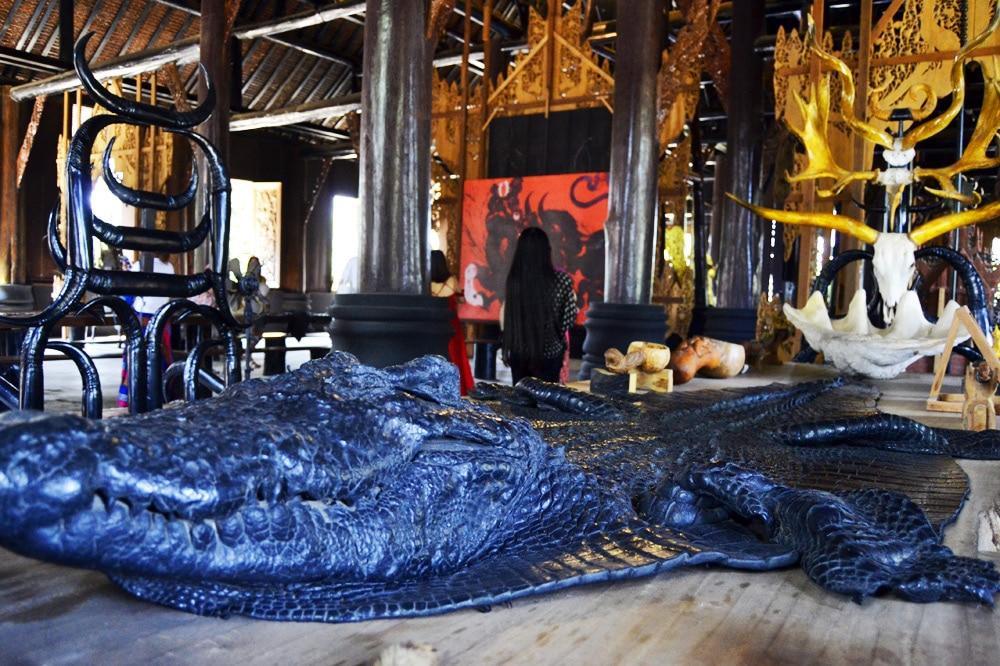 Schwarzes Haus - Black Temple - Baan Dam in Chiang Rai, Thailand