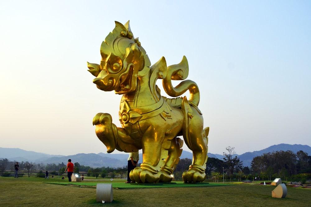 Singha Park Chiang Rai Löwe