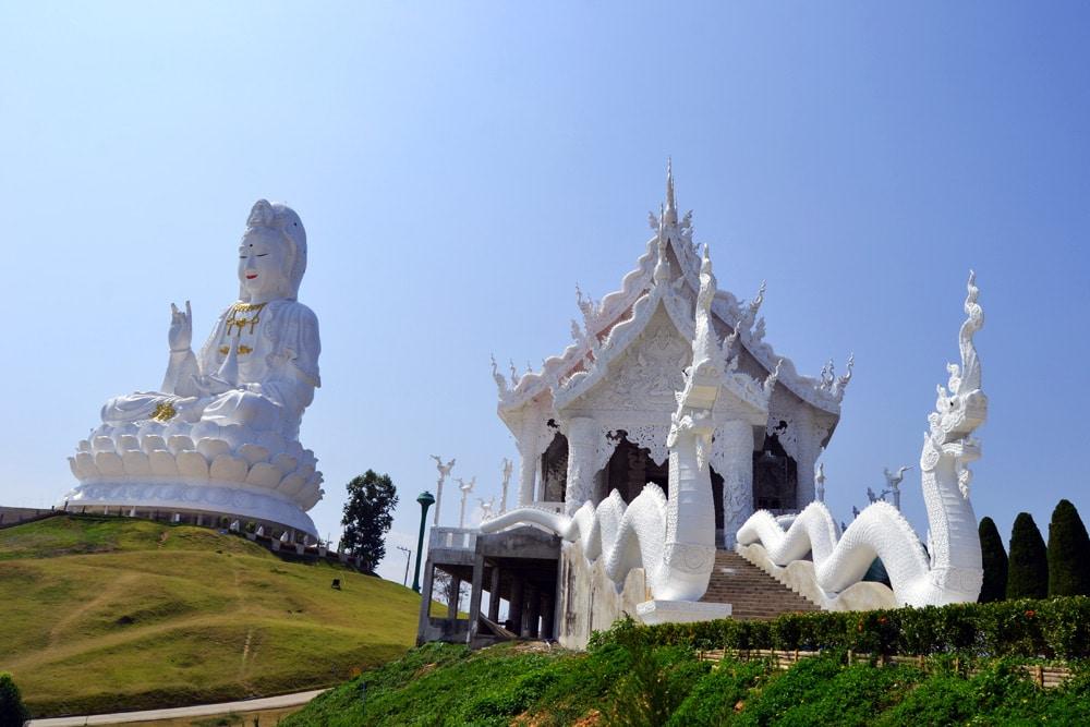Wat Huai Pla Kung (9 Tier Temple) in Chiang Rai, Thailand