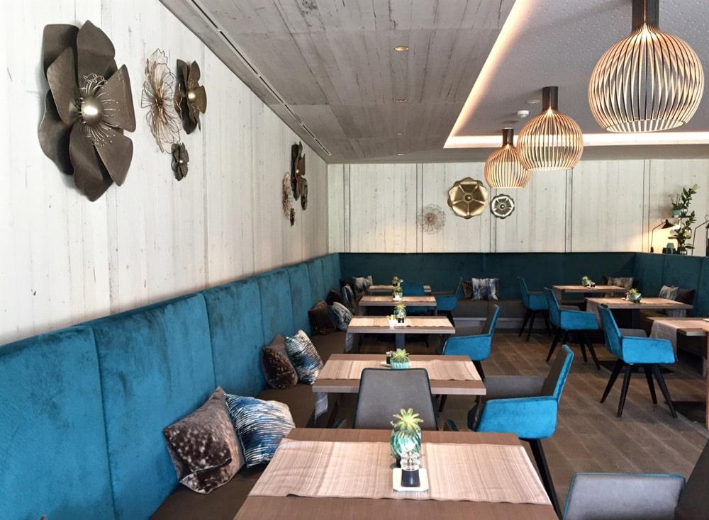 la maiena meran resort: Hoteltest und Erfahrungsbericht - Restaurant Bistro Fiorello