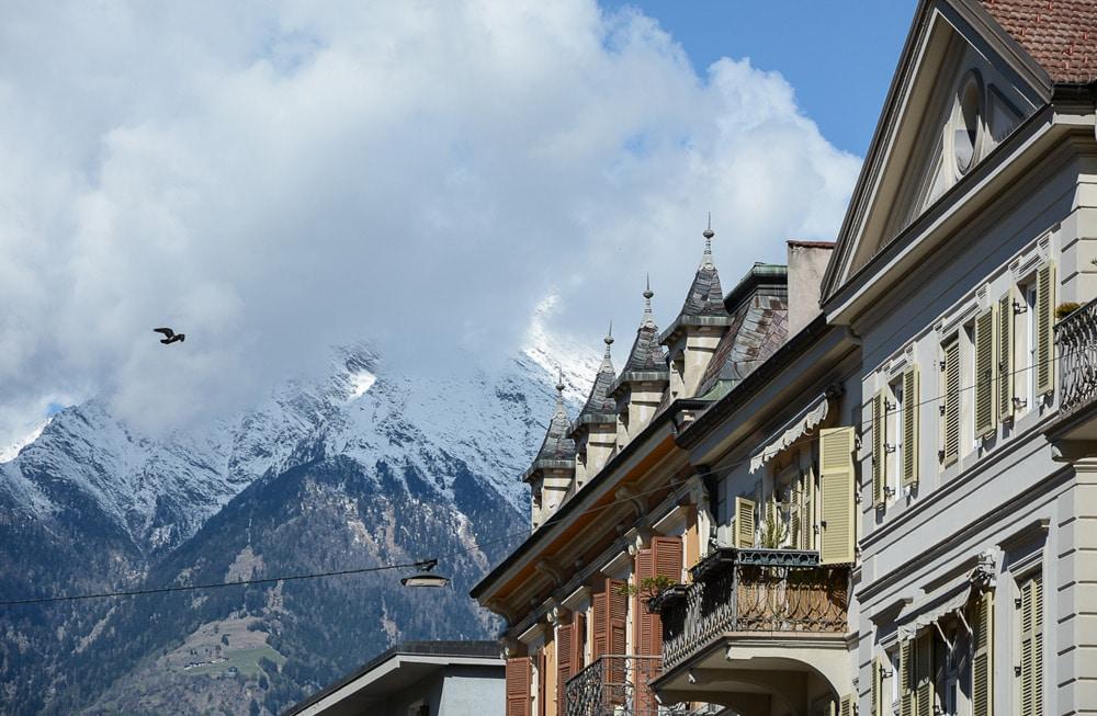 la maiena meran resort: Hoteltest und Erfahrungsbericht - Stadt Spaziergang und Architektur
