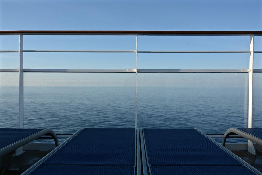Norwegian Epic Erfahrungen: Sun Deck Liegen