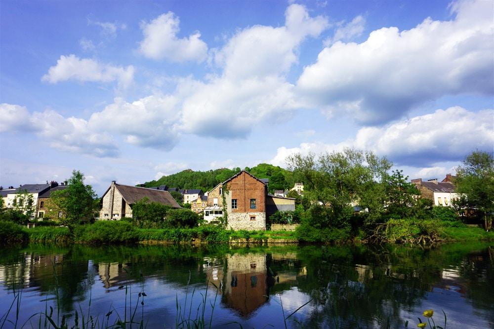 Frankreich Roadtrip: Ardennen Radfahren auf der Voie Verte Trans-Ardennes von Charleville Mezieres nach Montherme