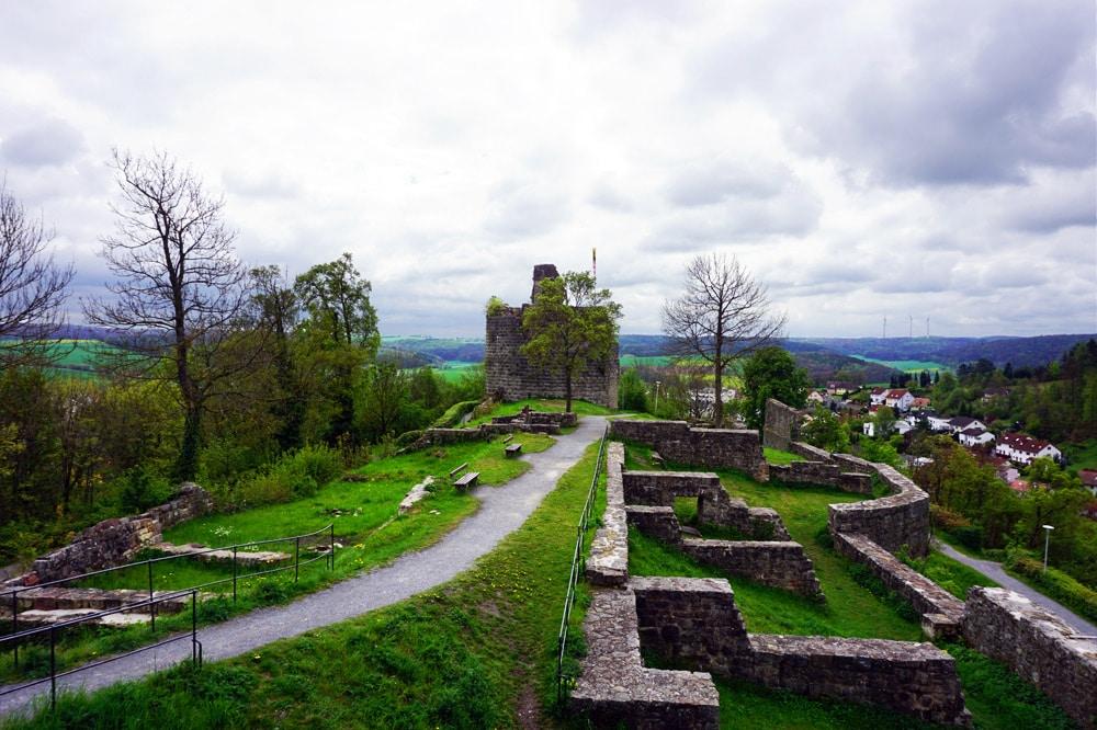 Bad Kissingen Sport- und Wellnesswochenende: Bad Kissinger Runde Wandern Rundwanderweg