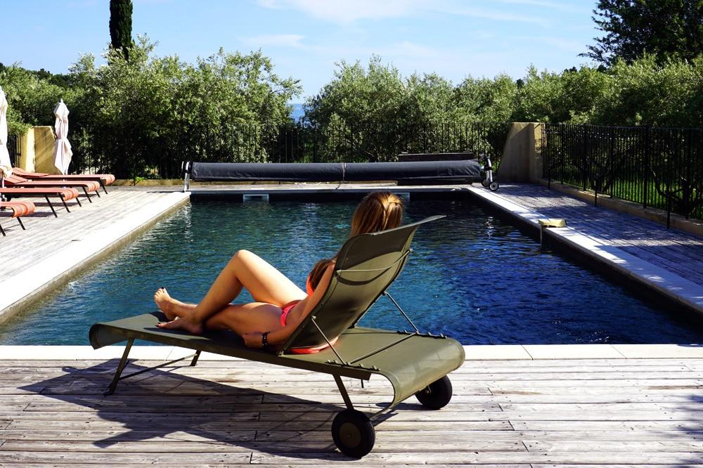 Frankreich Roadtrip: B&B Pension Mas de la Lause in Vaucluse, Provence, Frankreich