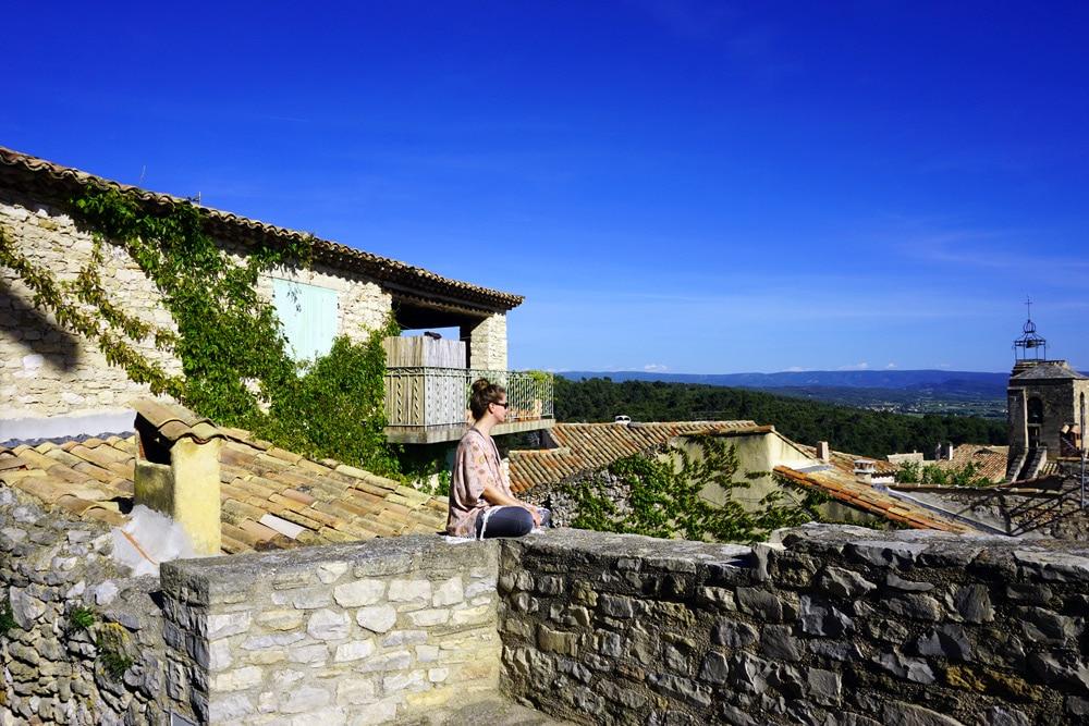 Vaucluse: Fahrrad fahren in der Provence
