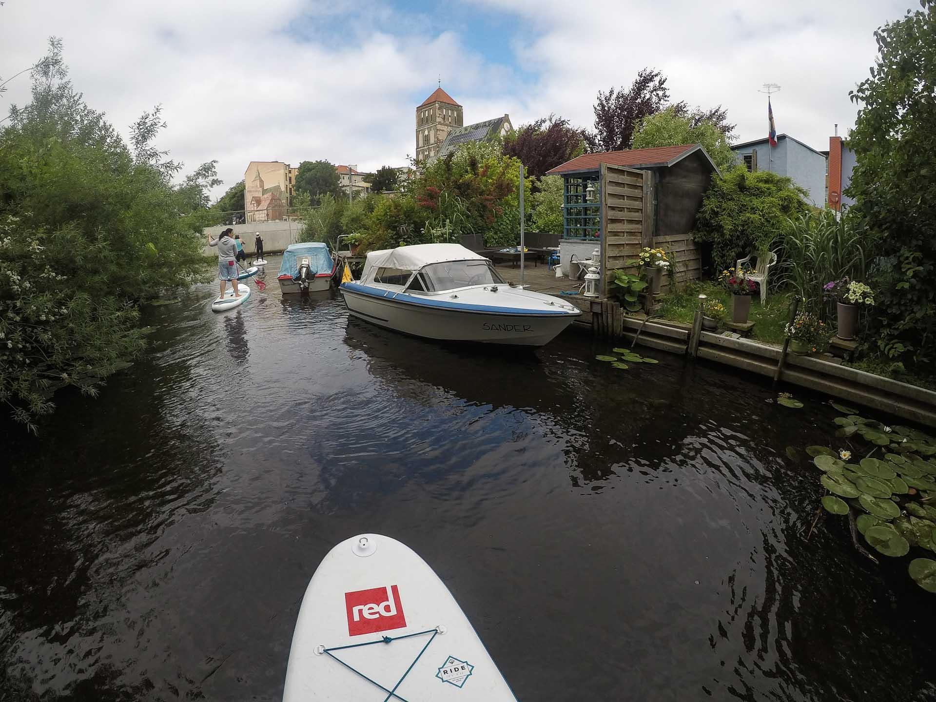 Ostsee: SUP Tour Rostock Warnemünde - Klein Venedig in Warnow