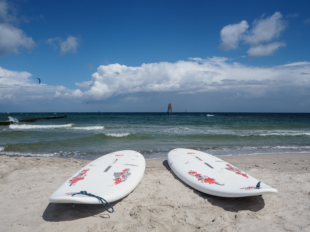 Ostsee: Surf & Kite Club Zingst - Surfschule in Mecklenburg Vorpommern