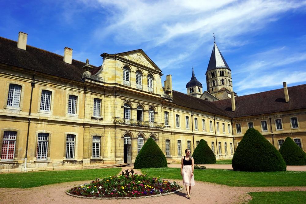 Cluny Abtei Kloster in Bourgogne Franche Comté